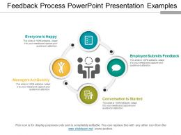 Feedback Process Powerpoint Presentation Examples