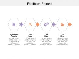 Feedback Reports Ppt Powerpoint Presentation Infographic Template Model Cpb