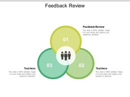 Feedback Review Ppt Powerpoint Presentation Pictures Master Slide Cpb