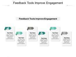 Feedback Tools Improve Engagement Ppt Powerpoint Summary Slide Portrait Cpb