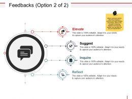Feedbacks Powerpoint Shapes