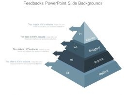 Feedbacks Powerpoint Slide Backgrounds