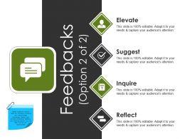 Feedbacks Powerpoint Slide Backgrounds Template 1