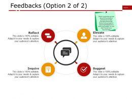 Feedbacks Ppt Presentation Examples