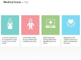 Female Child Patient Health Heart Care Ppt Icons Graphics