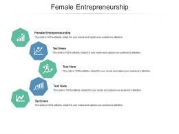 Female Entrepreneurship Ppt Powerpoint Presentation Portfolio Example File Cpb