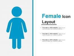 Female Icon Layout PowerPoint Guide