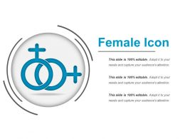 Female Icon Powerpoint Shapes
