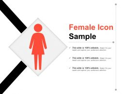 Female Icon Sample Powerpoint Images