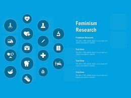 Feminism Research Ppt Powerpoint Presentation Inspiration Picture