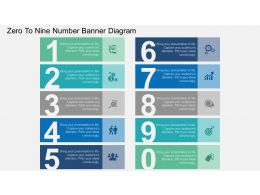 fg Zero To Nine Number Banner Diagram Flat Powerpoint Design