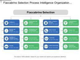 Fiaccabrino Selection Process Intelligence Organization And Planning