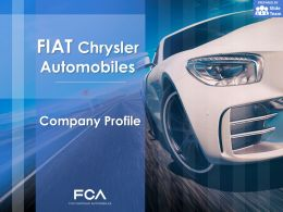 Fiat Chrysler Automobiles Company Profile Overview Financials And Statistics From 2014-2018