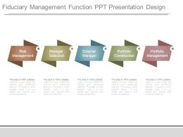 Fiduciary Management Function Ppt Presentation Design