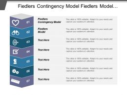 Fiedlers Contingency Model Fiedlers Model Mintzberg Model Tuckman Model Cpb