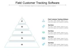Field Customer Tracking Software Ppt Powerpoint Presentation Pictures Templates Cpb
