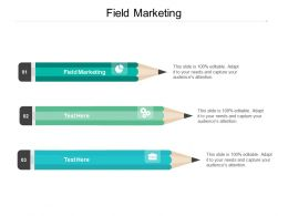 Field Marketing Ppt Powerpoint Presentation File Structure Cpb