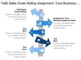 Field Sales Goals Setting Assignment Core Business Segments Sales
