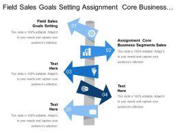 Field Sales Goals Setting Assignment Core Business Segments Sales