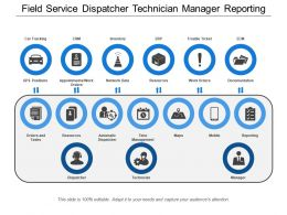 Field Service Dispatcher Technician Manager Reporting