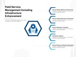 Field Service Management Including Infrastructure Enhancement
