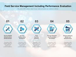Field Service Management Including Performance Evaluation