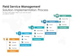 Field Service Management Solution Implementation Process