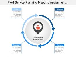Field Service Planning Mapping Assignment Completion