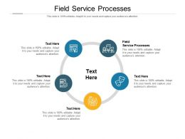 Field Service Processes Ppt Powerpoint Presentation File Outline Cpb
