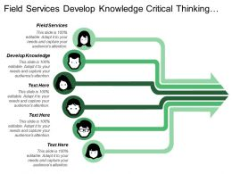 Field Services Develop Knowledge Critical Thinking Problem Solving