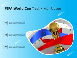 FIFA World Cup Trophy With Ribbon