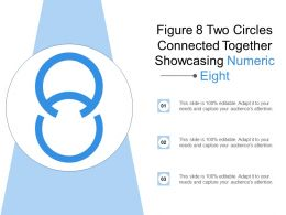 Figure 8 Two Circles Connected Together Showcasing Numeric Eight