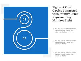 Figure 8 Two Circles Connected With Infinity Lines Representing Number Eight