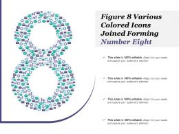 Figure 8 Various Colored Icons Joined Forming Number Eight