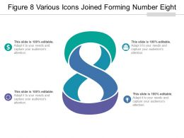 Figure 8 Various Icons Joined Forming Number Eight
