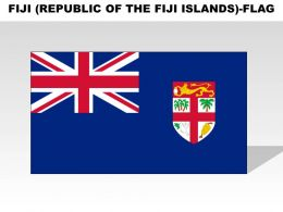 Fiji Republic Of The Fiji Islands Country Powerpoint Flags