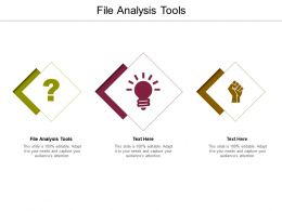 File Analysis Tools Ppt Powerpoint Presentation Layouts Structure Cpb