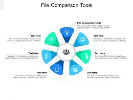 File Comparison Tools Ppt Powerpoint Presentation Portfolio Backgrounds Cpb