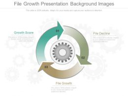 File Growth Presentation Background Images