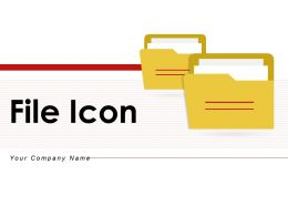 File Icon Security Password Protection Storage Penetration Magnifying Glass