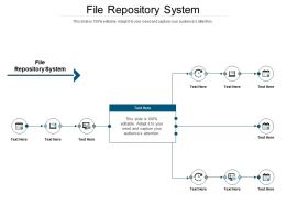 File Repository System Ppt Powerpoint Presentation Icon Structure Cpb