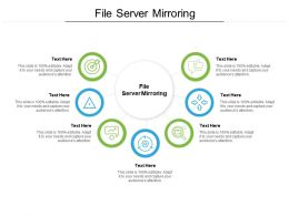 File Server Mirroring Ppt Powerpoint Presentation Icon Graphics Design Cpb