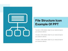 File Structure Icon Example Of Ppt