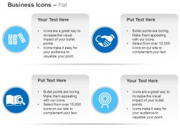 Files Business Deal Search Target Achievement Ppt Icons Graphics