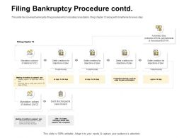 Filing Bankruptcy Procedure Contd Plan Conformation Ppt Powerpoint Presentation Gallery