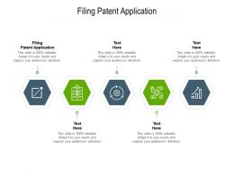 Filing Patent Application Ppt Powerpoint Presentation Slides Example Cpb