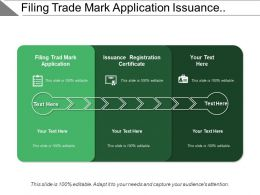 Filing Trade Mark Application Issuance Registration Certificate Tier Lateral