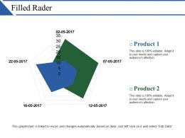 Filled Rader Ppt Examples Professional