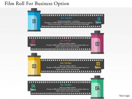 Film Roll For Business Optionflat Powerpoint Design