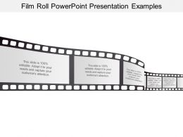 Film Roll Powerpoint Presentation Examples